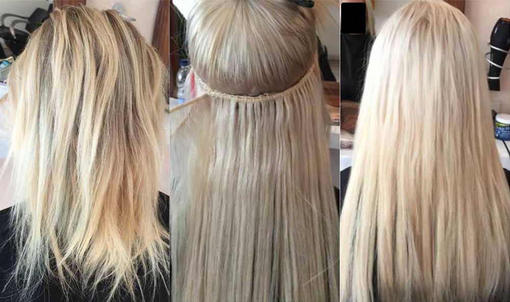 Pre Bonded Hair Extensions Discrete Hair Studio